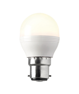 B22d LED Dimmable Golf Ball Lamp - 4w or 6.5w