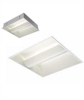 Ceiling recessed office lights lighting styles fluorescent recessed ceiling luminaire mozeypictures Image collections
