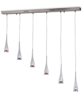 Flute Multi-Drop Bar Light