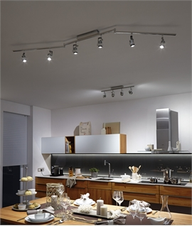 Directional Spotlights On A Bar Spots Lighting Styles - Kitchen spot light fittings
