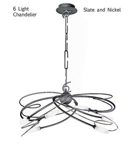 Miss Irony Modern Chandelier