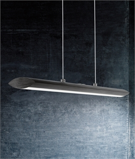 Ultra Modern Matt Black Pendant Light