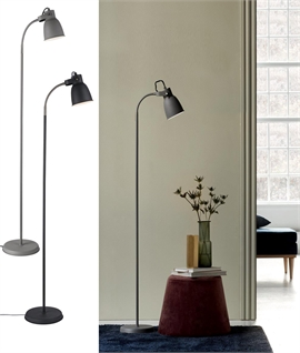 Floor Reading Lamp - Fully Adjustable in a Nordic Style