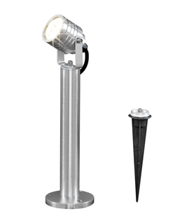 Bollard Mounted LED Spotlight with Spike