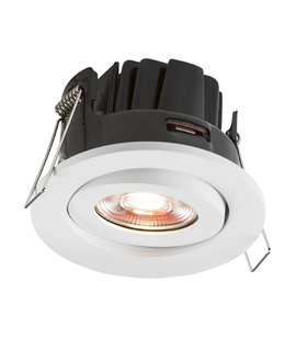 Adjustable Low Profile LED Downlight Fire & IC Rated