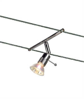 Adjustable MR16 Tension Wire Lamp