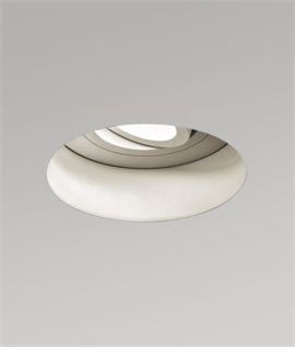 Adjustable Round Trimless Fire Rated Downlight