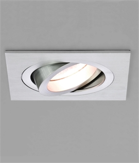 Mains Square Adjustable Downlight