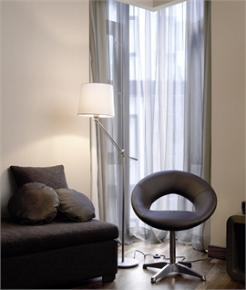 Adjustable Stem Floor Lamp