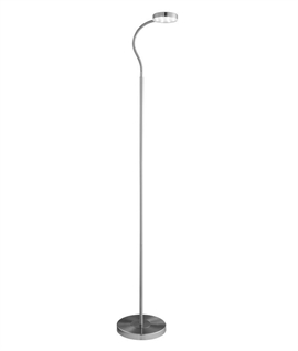 Slim Adjustable LED Floor Lamp