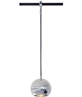 Advanced Track Pendant Light-Eye Chrome