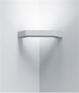Slim Profile Plaster Corner Wall Light