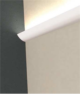 LED Plaster Cornice Uplight - Aile