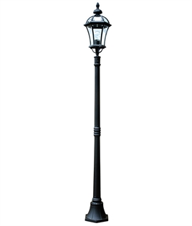 Black Cast Aluminium Lamp Post H:1924mmm
