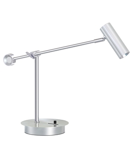 Modern Slimline Low Energy Table Lamp