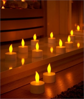 Ambient Rechargeable Candle Lights - Set of 12