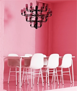 Amp Chandelier with Glass Shades by Normann Copenhagen