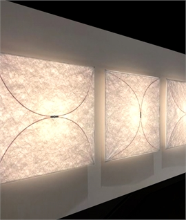 Ariette - The Fabric Wall Light by Tobia Scarpa for Flos