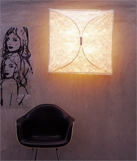 Ariette Fabric Wall Light by Flos