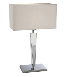 Modern Table Light with Art Deco Influences