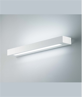 Edge Wide Plaster Up & Down Wall Light - 3 Sizes