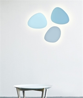 Atoll Petite Oval Plaster Wall Light