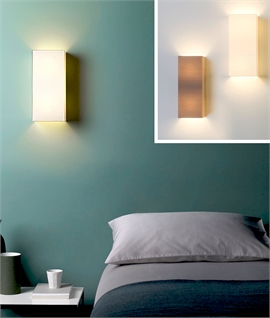 Tall Back-To-Wall Light - Diffused Wall Washing Light Effect