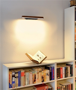 Linear Wall Light Bamboo & Steel - Two Designs