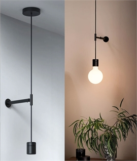 Pendant Suspension Kit with Wall Fixing