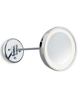 Vanity Illuminated Mirror Round 3 x Magnification