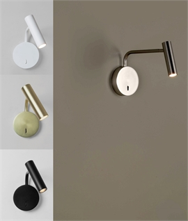 Slim LED Swing Wall Light with Adjustable LED Lamp Head