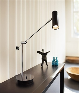 Modern Slimline LED Table Lamp - 3 Finishes