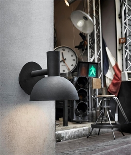 Industrial Style Exterior Bracket Wall Light