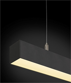 LED Linear Light with Frosted Diffuser