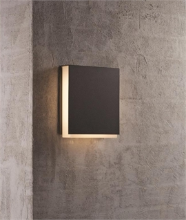 Outdoor LED IP44 Square Wall Light