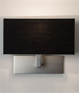 Stylish Wall Light with Fabric Shade
