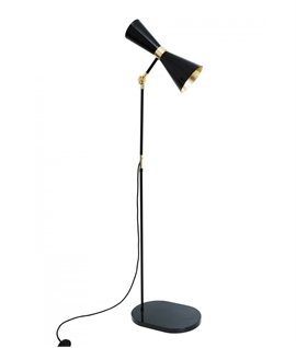 Hourglass Contemporary Floor Light - 2 Options