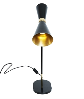 Elegant Hourglass Table Lamp