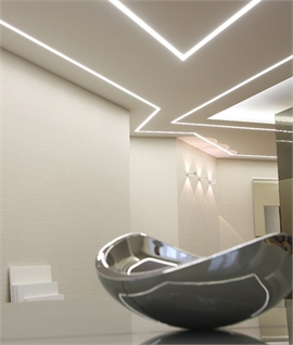 Plaster Linear Light Mini Blade Lighting Styles