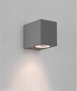 Block Wall Mounted Downlight for Inside or Out - GU10 LED