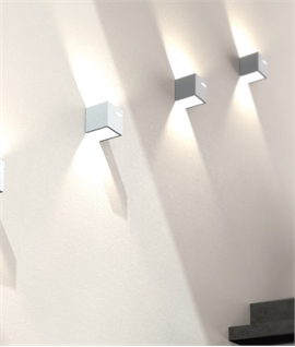 Very Stylish Box & Slot Plaster Wall Light