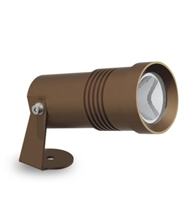 Bronze Mains LED Spike Light - two outputs and colour temperatures