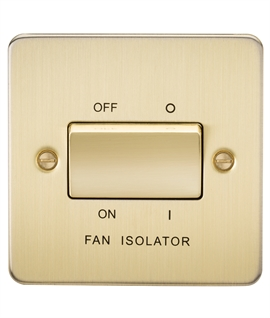 Bathroom Fan Isolator Switch