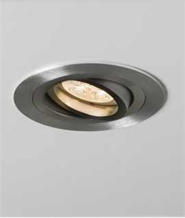 Recessed Low Voltage Downlight - Tilt or Fixed Option