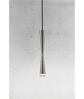 Slender Hourglass Design LED Light Pendant