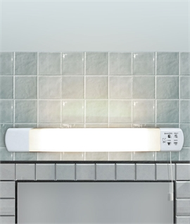 Budget-Priced LED Bathroom Shaver Light - Dual Voltage