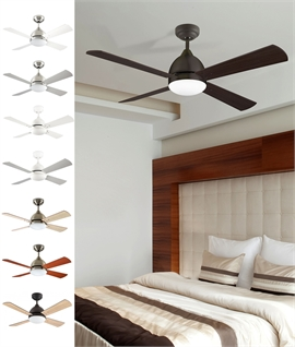 Budget Friendly Remote Control Ceiling Fan with Light
