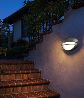 Orbital Oval External Wall Light