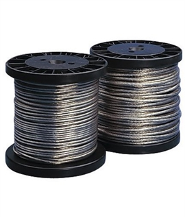 Cable Tension Wire Available in Clear, White or Black