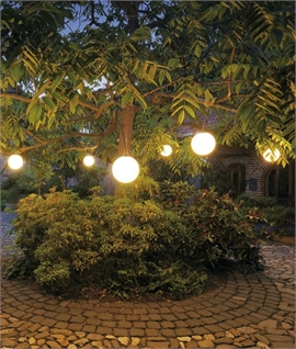 Exterior Decorative Hanging Globe for Ambient Lighting